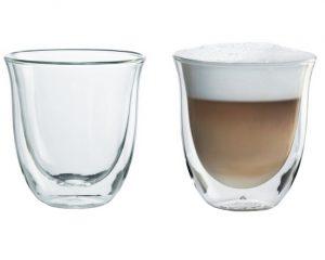 Skleničky na cappuccino DeLonghi