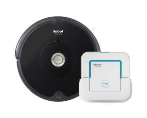 Set iRobot Roomba 606 + Braava jet 240