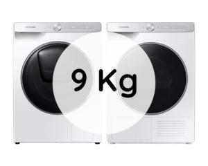 S pračkou na 9 kg prádla