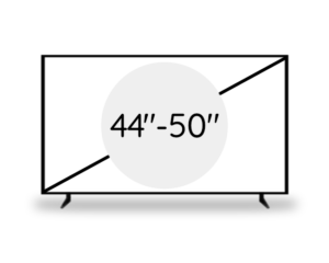 "44""- 50"" (110 - 127 cm)"